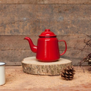 Image of fforest enamel teapot for two
