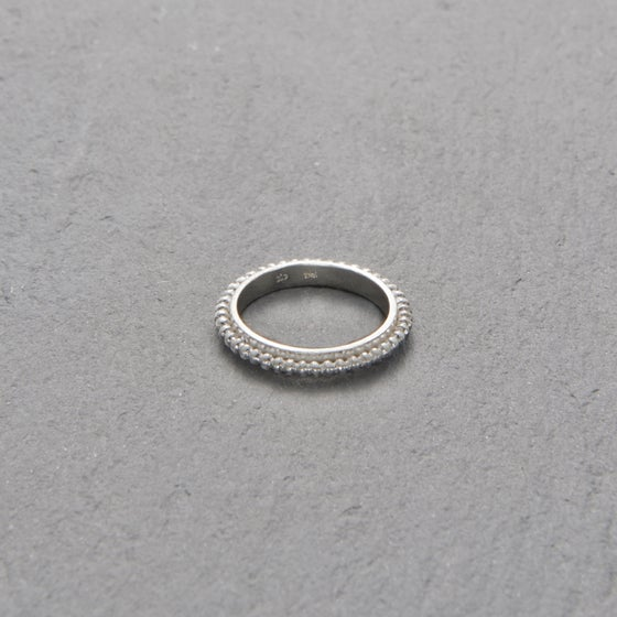Image of Mount Lavinia Pellet Ring Silver