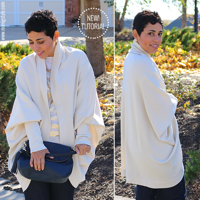Image of DIY COCOON SWEATER VIDEO TUTORIAL