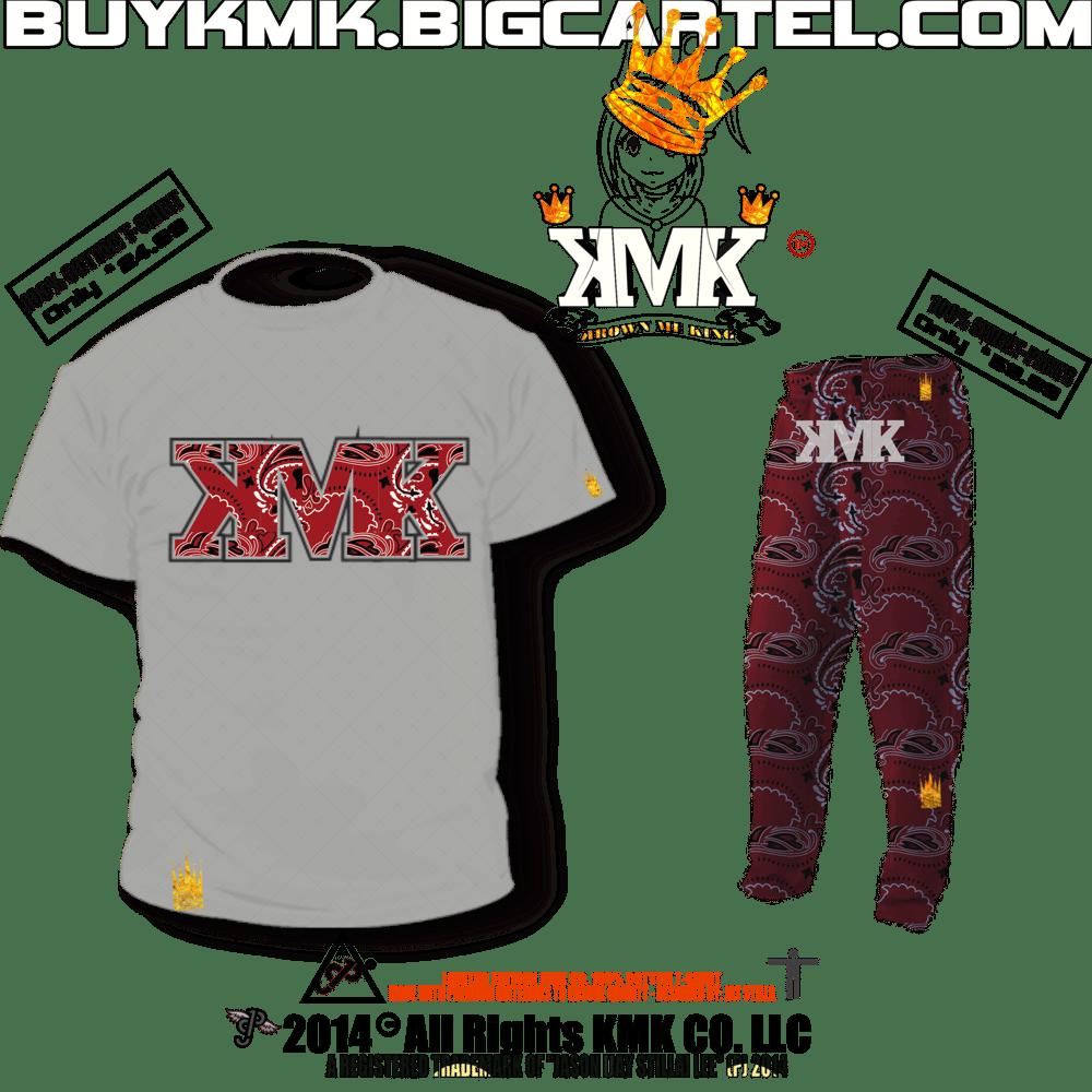 Image of KMK Co.- BLOODLINE T-SHIRT & SWEATPANTS [PREMIUM-STREET-WEAR]