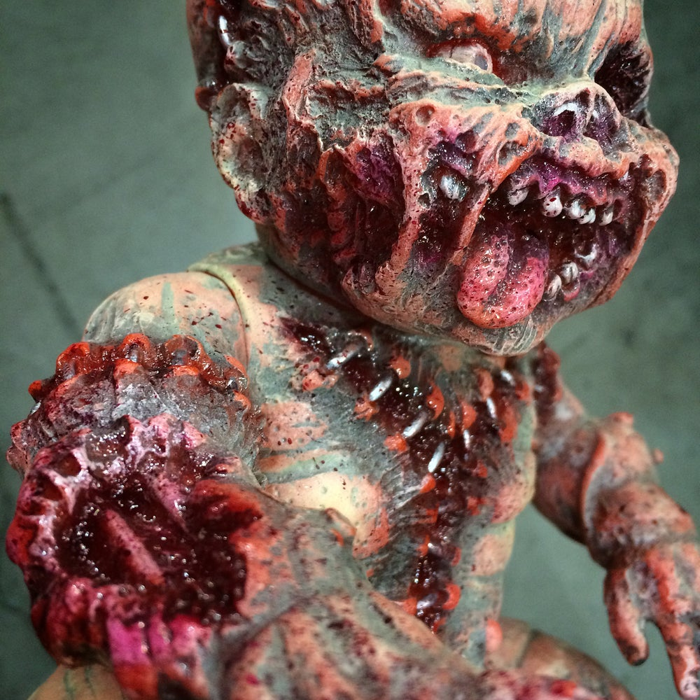 Image of Handpainted Gergle by Jeremi Rimel (Miscreation)