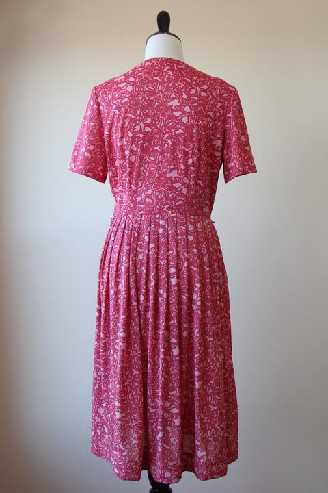 Image of SALE Pink Floral Maze Dress (Orig $65)