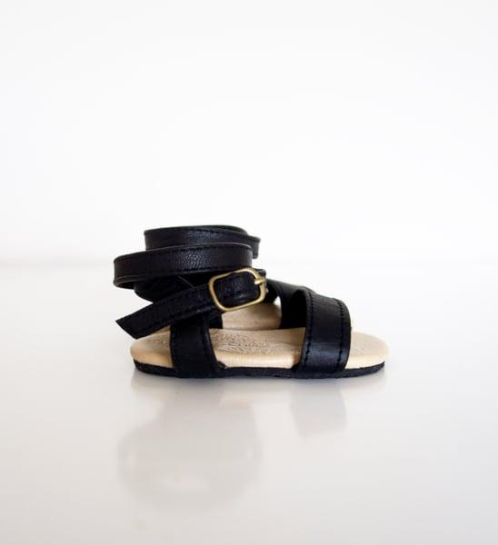 Image of Gypsy Sandal-Black