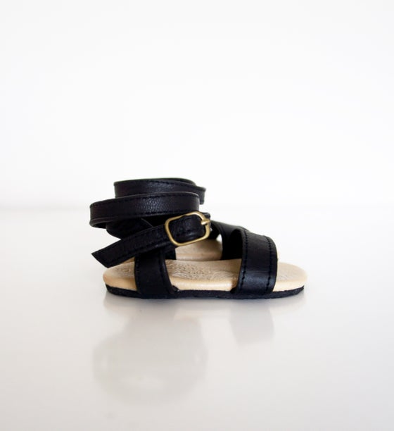 Image of Gypsy Sandal-Black