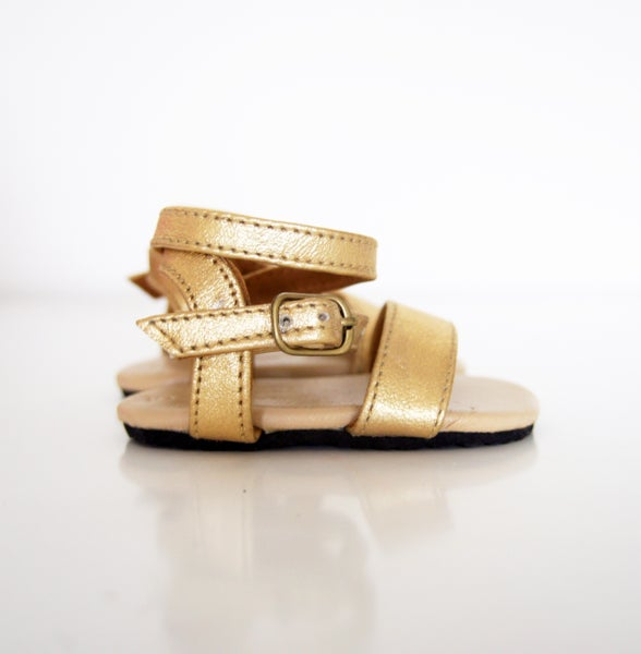 Image of Gypsy Sandal- Gold