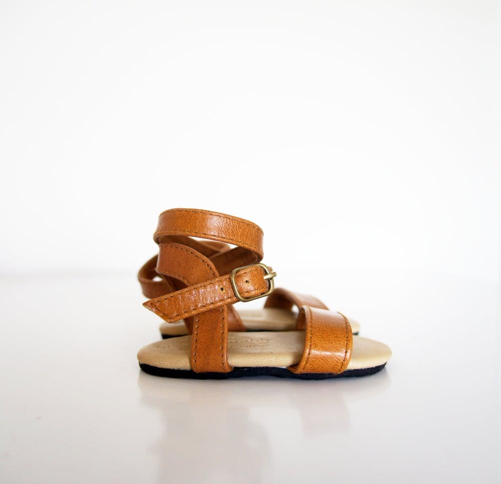 Image of Gypsy sandal- Tan