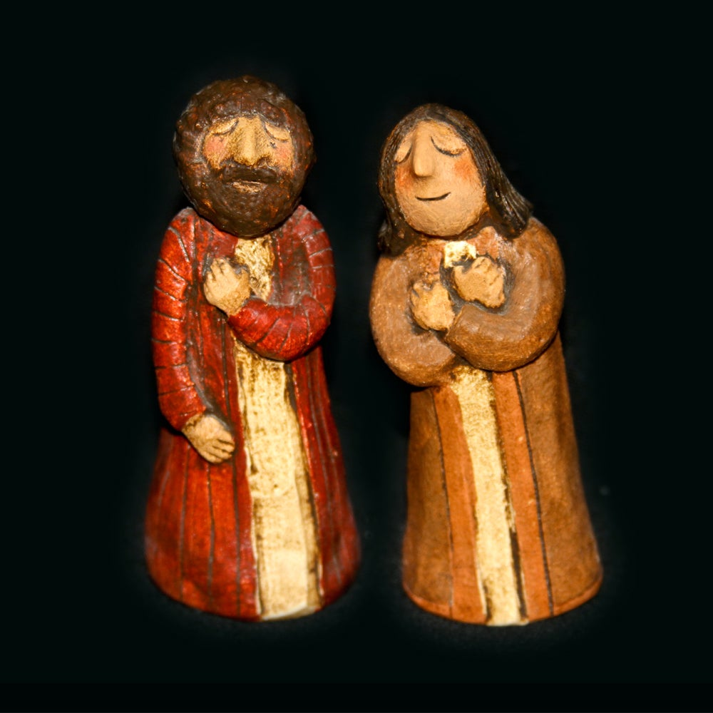 Image of PETER AND JOHN - Painted