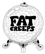 Image of FAT CREEPS MEN'S CRYSTAL BALL T SHIRT