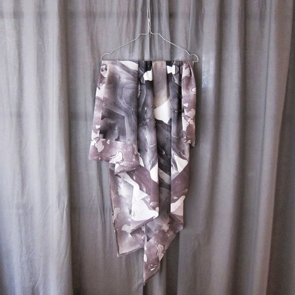 Image of Silk Scarf / Full Moon