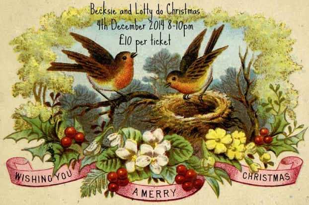 Image of Becksie and Lotty do Christmas