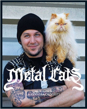 Image of SIGNED Copy of Metal Cats