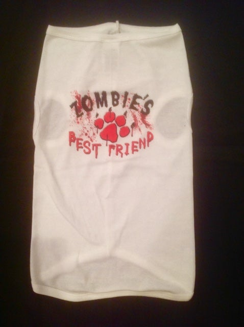 Image of Zombie's Best Friend - Dog Tee