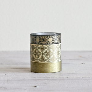 Image of Metallic Washi Tape Set