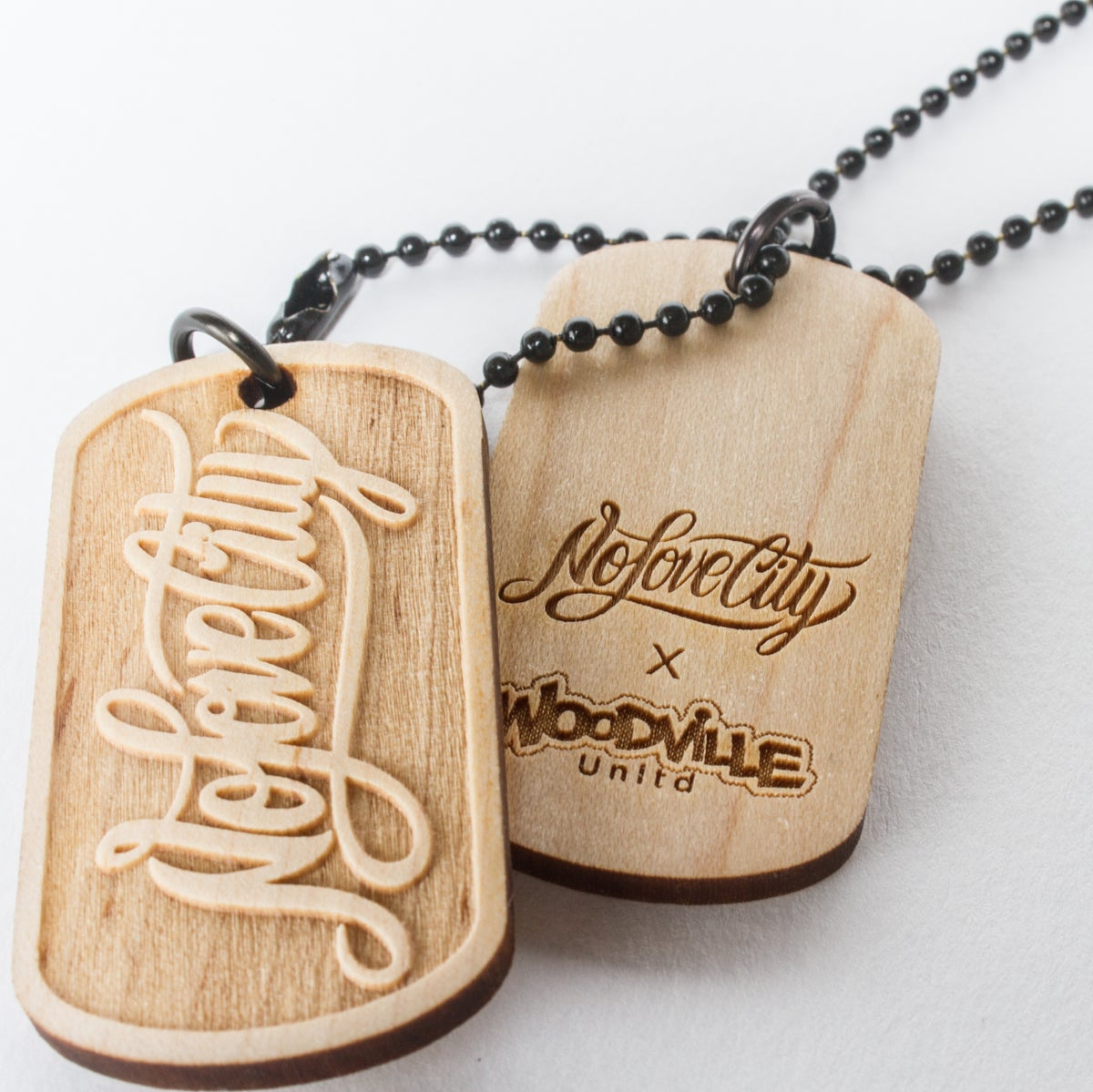 Image of Script Logo Dog Tags