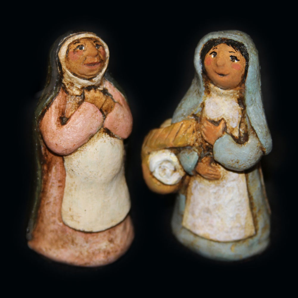 Image of VISITATION - Painted