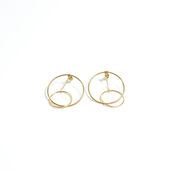 Detalle de Plume Hoop Earrings