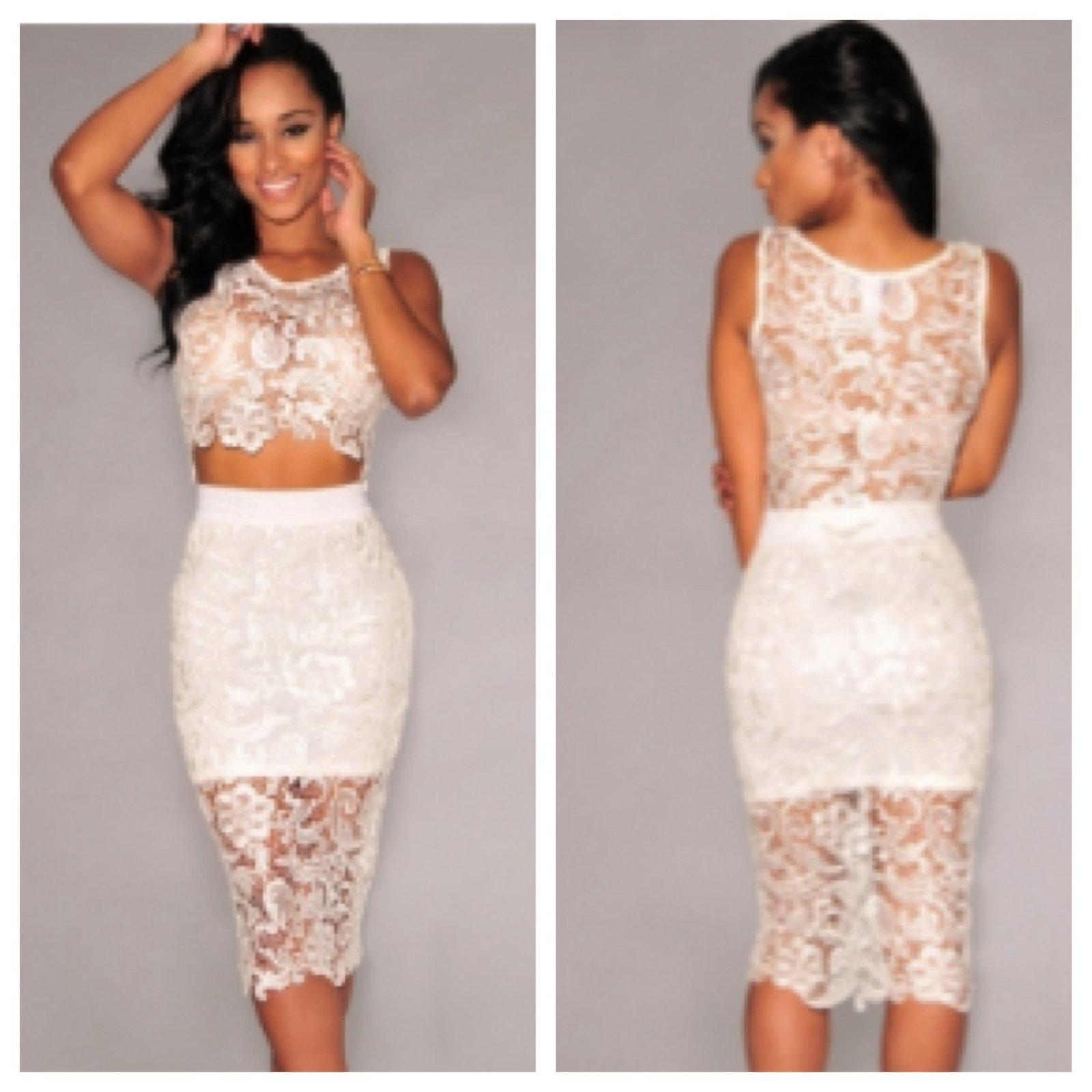 73e1d0e8fe Sleeveless lace skirt and top eklektik style jpg 1000x1000 Lace skirt and  top