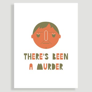 Image of Scottish Character - Two colour print