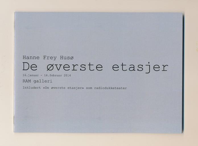 Image of De øverste etasjer - katalog