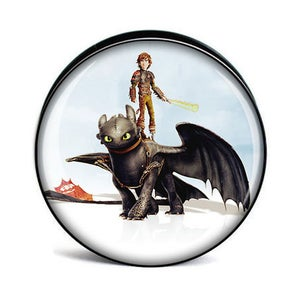 Image of How To Train Your Dragon Flesh Plugs