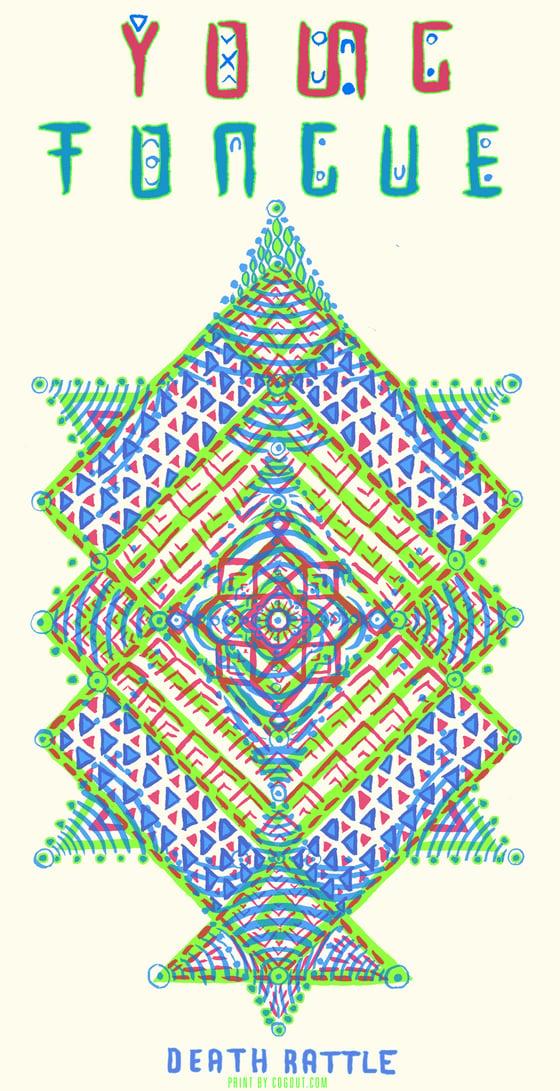 Image of Screen Printed Kaleidoscope Poster