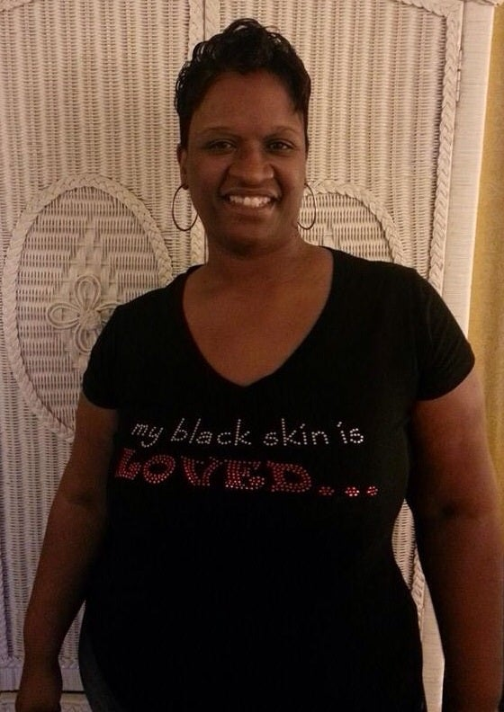 my black skin is LOVED...