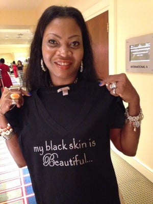 Image of my black skin is Beautiful...