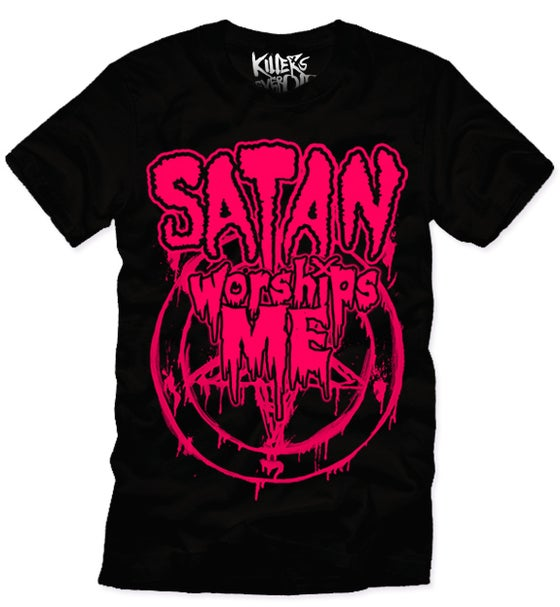 Image of SATAN WORSHIPS ME