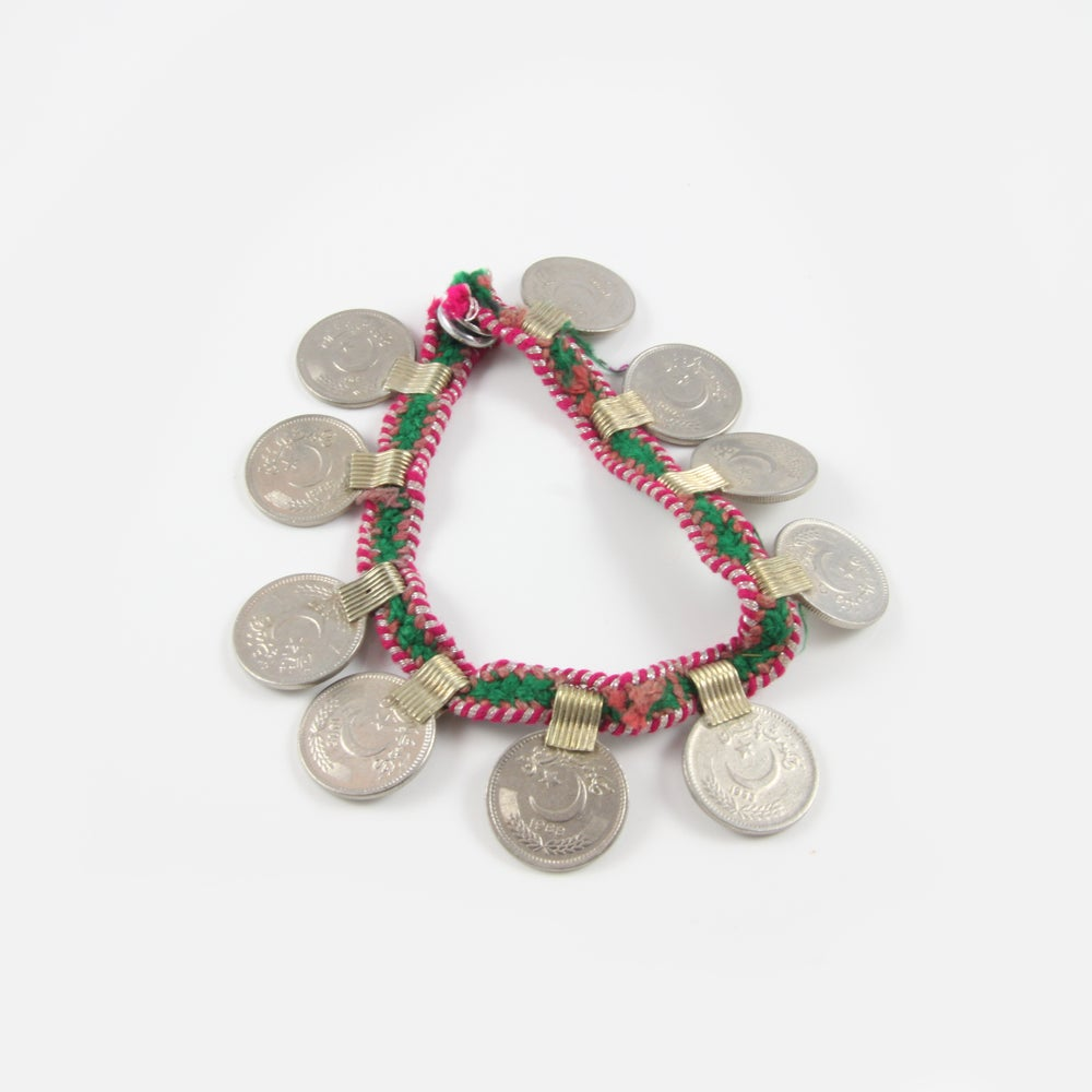 Image of Coin Anklet / Bracelet / Arm Band - Small