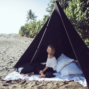 Image of BLACK BEACHTIPI (ALL SIZES)