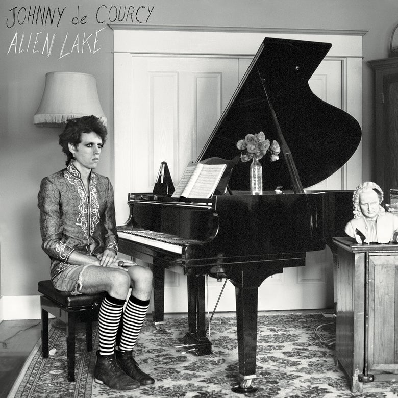 Image of Johnny de Courcy - Alien Lake - LP