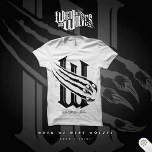 Image of Wolves Claw Mark Tee White