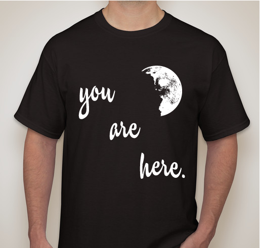 """Image of """"You Are Here"""" T-shirt"""