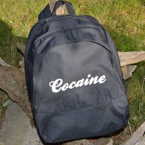 Image of Cocaine Backpack