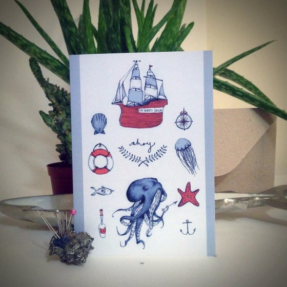 Image of Nautical Card