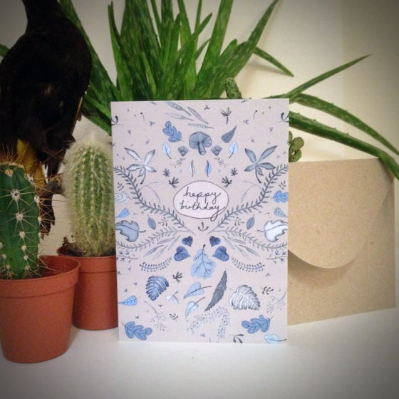 Image of Floral Birthday Card