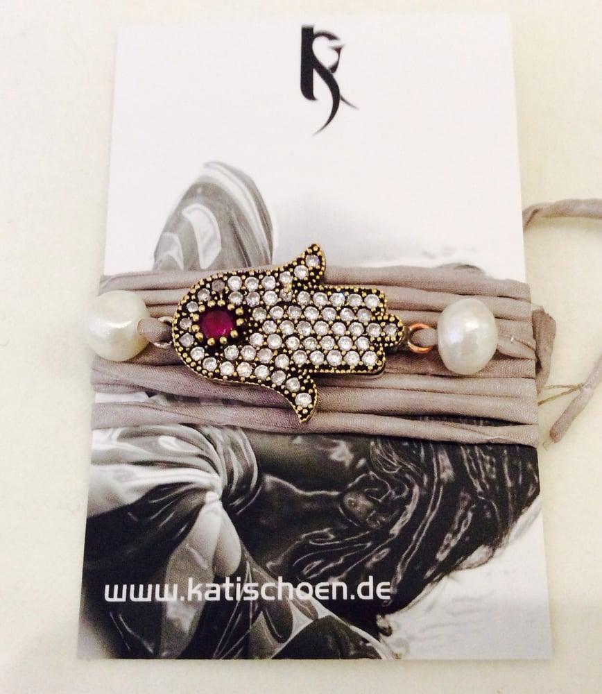 """Image of """"Fatimas Hand"""" Seidenarmband"""