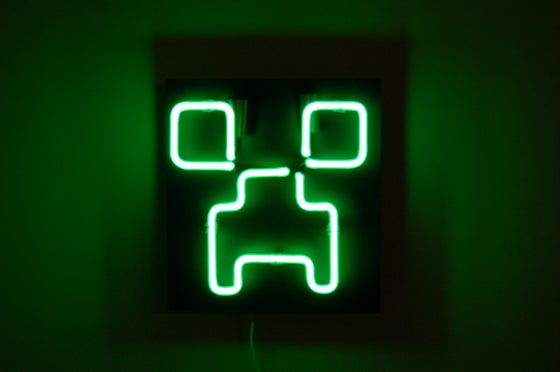 Image of Creeper Neon Light Sign