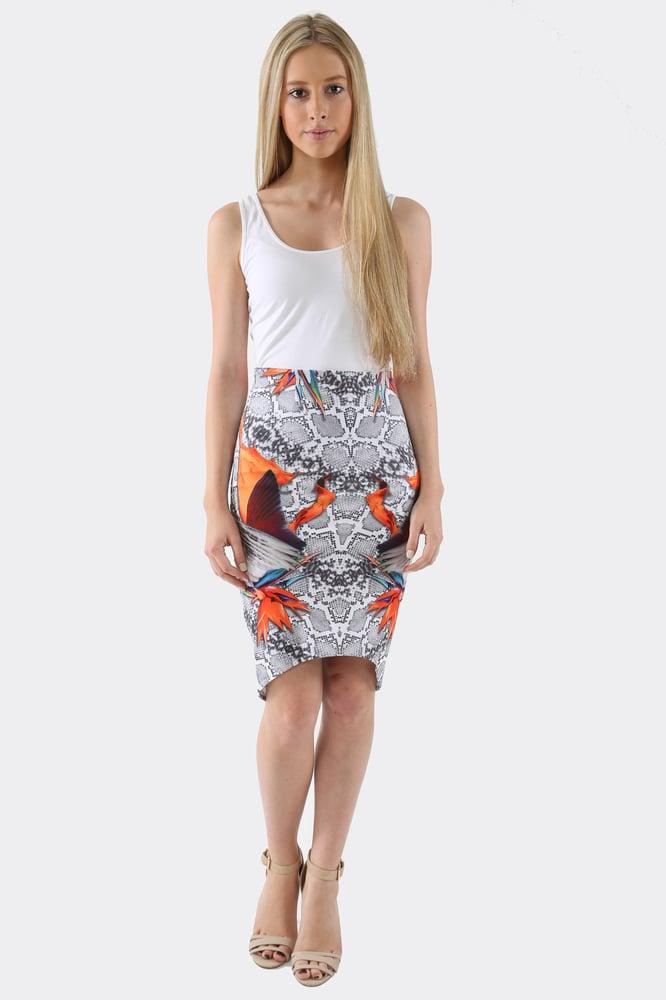 Image of Snake of Paradise Skirt