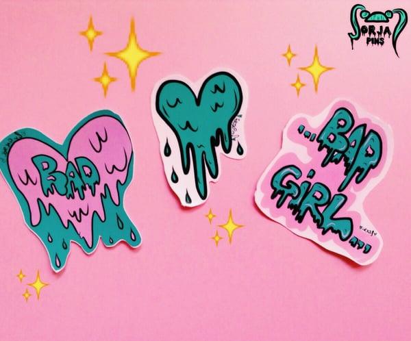 Image of BAD GIRLS STICKERS SET