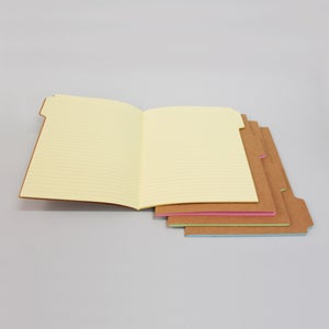 Image of Tab notebooks