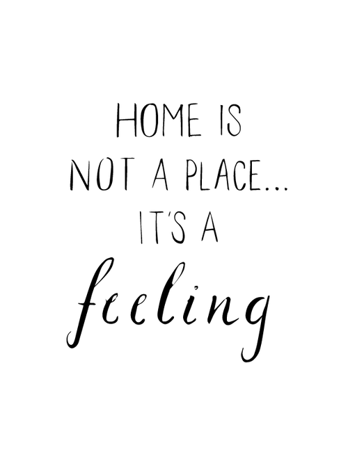Image of Home Isn't a Place...