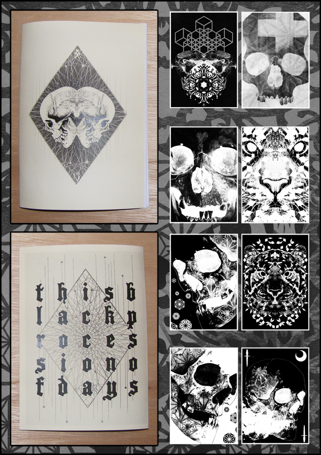 Image of This Black Procession Of Days - Part 2 - Zine