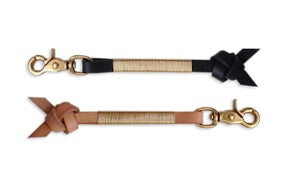 "Image of LEATHER & BRASS ""ARROW KNOT"""