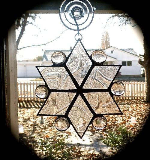 Image of Winter Set-Christmas stained glass