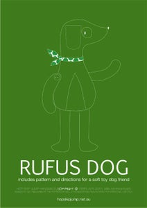 Image of PDF Sewing Pattern - Rufus Dog