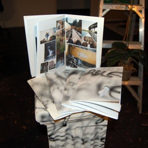 Image of marble rubble zine