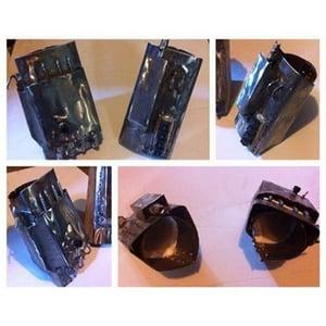 Image of Mandalorian Gauntlet Set - Steel/PVC - Basic/Light/Heavy
