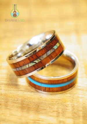 Image of DLX Koa Rings
