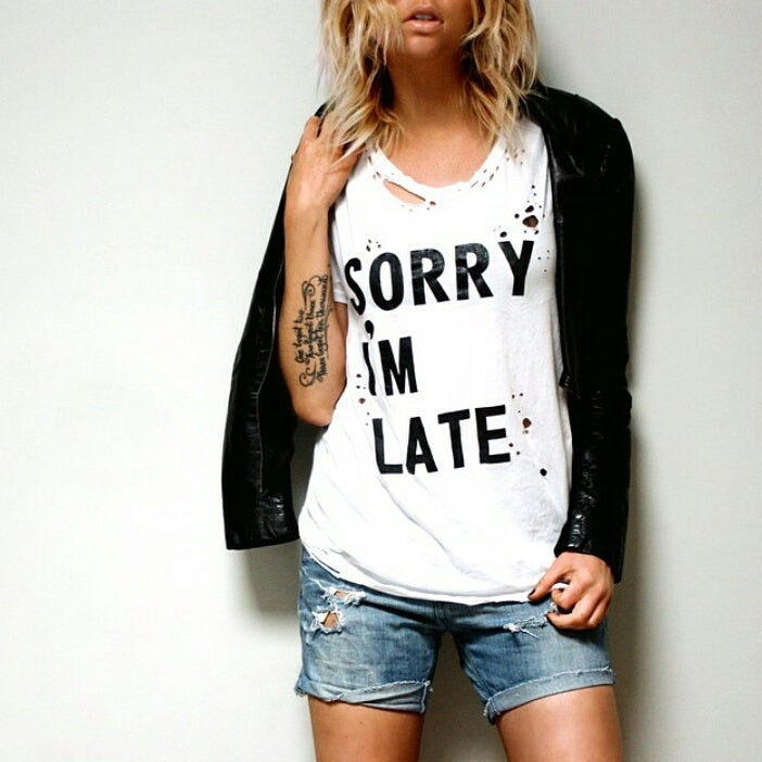 Image of SORRY I'M LATE